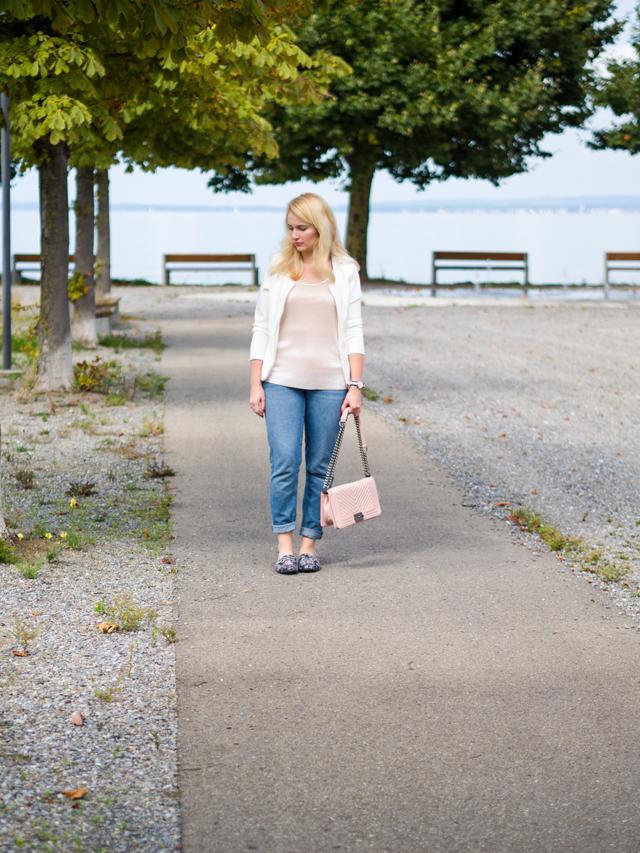 Übergangsoutfit mit Jeans