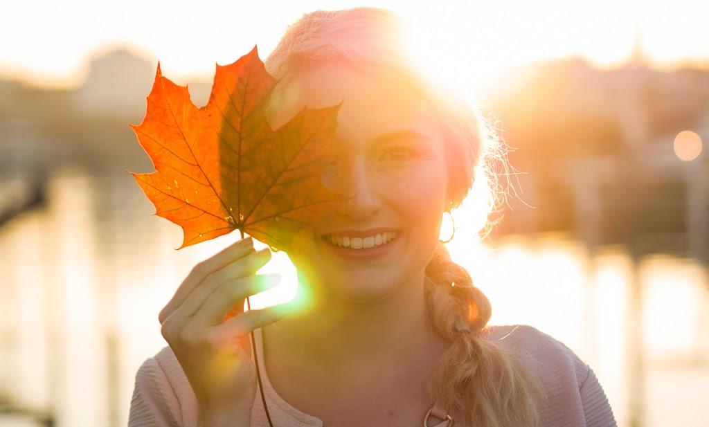 Portrait im Herbst