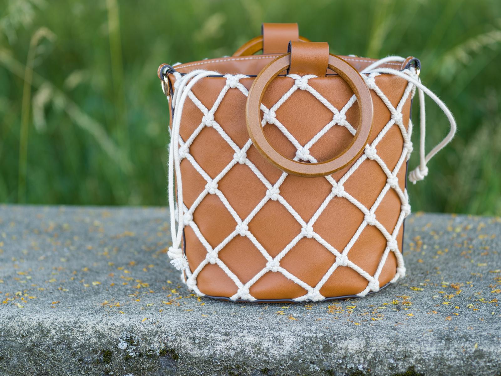 Tasche mit Netz