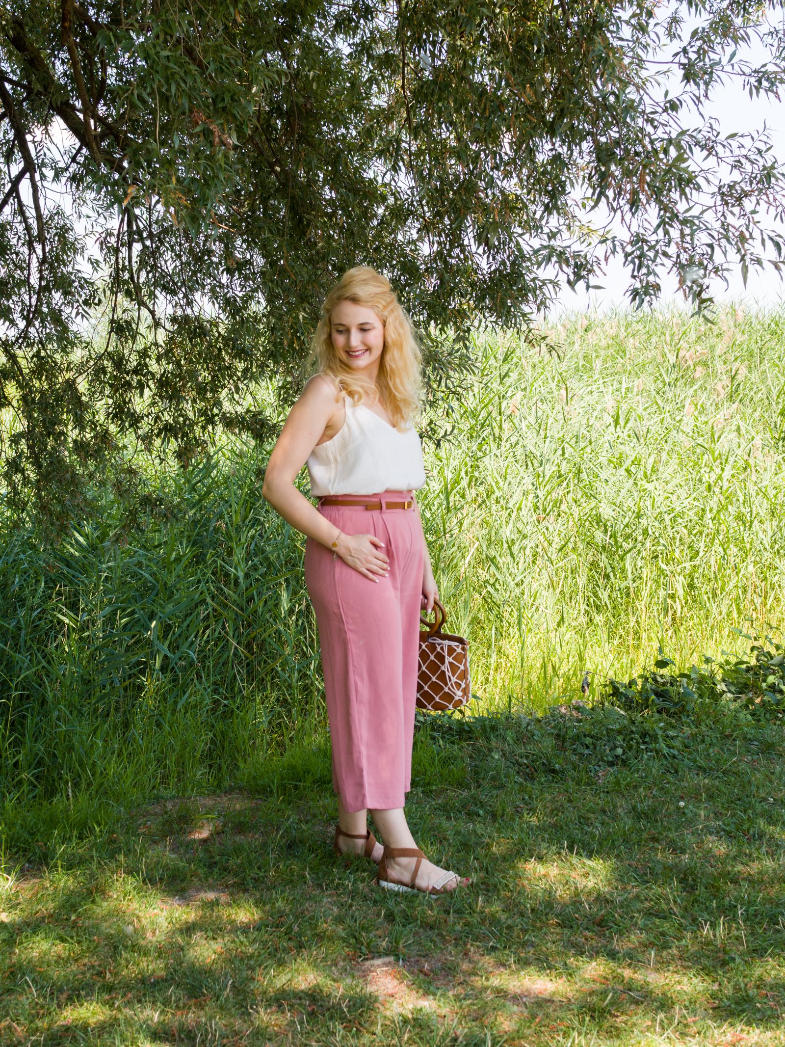 Culotte in Rosé